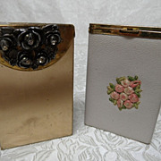 2 1960's Ladies Cigarette Cases~Princess Garner & Gold Tone Product
