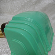 Art Deco Jadite Green Bakelite Bed Lamp