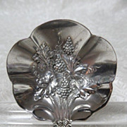 "Grape Pattern ""Moselle"" Silverplate Cream/Sauce Ladle by American Silver Co."