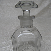 Antique Guerlain Jicky Apothecary Bee & Arrow Perfume Bottle-RARE