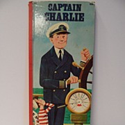 "SALE 50% OFF  Whitman Golden Book 1968-""Captain Charlie""~Extra Tall Book"