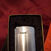 "Vintage ""Stellar Flame"" Cigarette Lighter~Unused with Box"