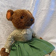 "Lovely English Lady ""Little Folk"" Teddy Bear"