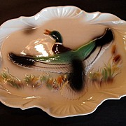 "SALE 50% OFF Vintage 1960 Mallard Duck Platter, Large 18 1/2"" & Unused!"