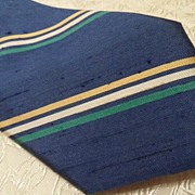Beautiful Vintage Givenchy Monsieur 100% Silk Necktie
