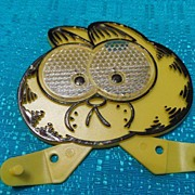 1970 Garfield Bicycle Spoke Reflector Cereal Premium