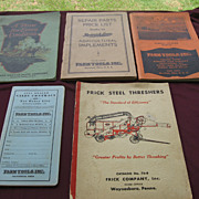 SALE Vintage Farm Catalogs Parts Book Price Guide Collection Set AgricultureTools