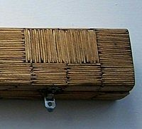 Matchstick Pool Cue Case - Folk Art - Prison Art