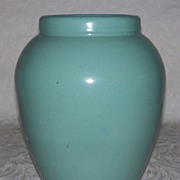 McCoy Aqua Vase - Oil Jar
