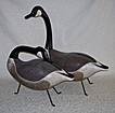 Canada Geese from Vermont - American Folk Art