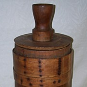 Antique Butter Churn - New England