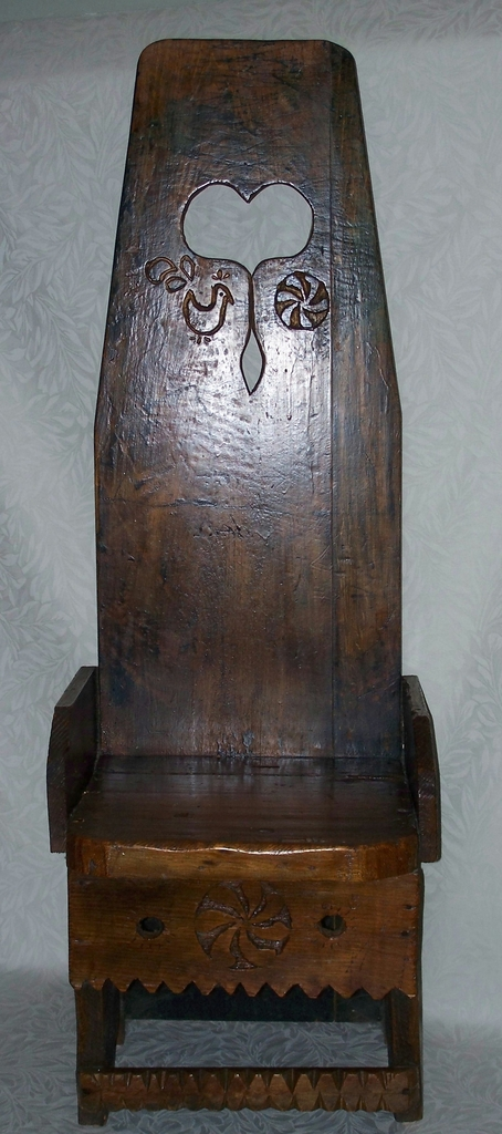 Folk Art Chair - American Folk Art