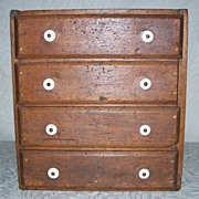 Antique Primitive Chest - Four Drawers