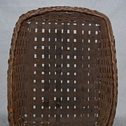 Antique Basket - Large Rectangular