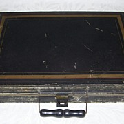 Antique Artist Box - Plein Air Painters Box