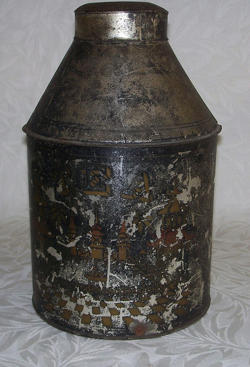 Tea Caddy or Canister