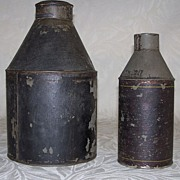 Antique Tea Caddy or Canister