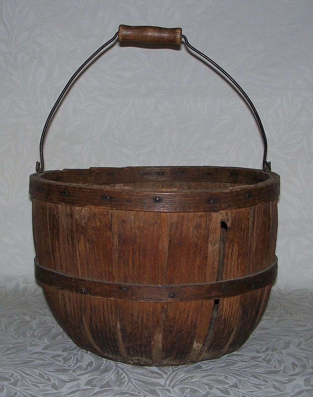 Antique Apple Basket - New England