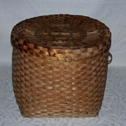 Antique Covered Basket