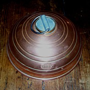 Copper Bed or Foot Warmer - Round