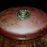 Copper Foot Warmer - Oval
