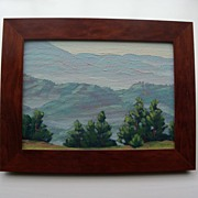Ruth Ann Younglove - Oil - California Landscape