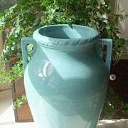 Aqua Vase - Oil Jar - Robinson Ransbottom Pottery Co.