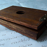 Vintage Wooden Slide Viewer - Vintage Photography