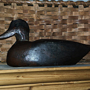 Antique Primitive Decoy - American Folk Art