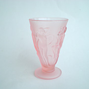 Consolidated/Phoenix Dancing Nymph Frosted Pink Tumbler