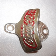 Vintage Coca Cola bottle opener