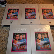 Set of Five Star Trek, VHS The collector's Edition, 1978 Paramount Pictures Corp