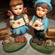 Oh so Cute New Vintage Stock date 1952-1972 Boy Girl VALENTINES.