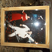 Authentic Autograph by John Travolta, Photo Saturday Night Fever