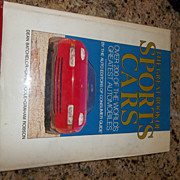 The Great Book of Sports Cars, 1988 Book, over 200 pictures of vintage cars