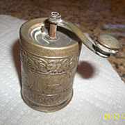 Bernard Rice's Sons Inc silver plate 1923 small Grinder