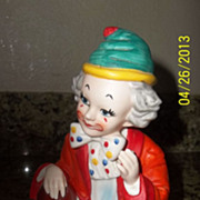Vintage Aladdin Portable Clown Lamp