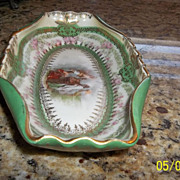 Imperial Crown China Austria  Beautiful Relish Dish 1890-1900