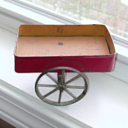 Gibbs Tin And Wood Wagon