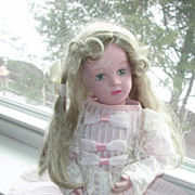 SOLD Schoenhut Wood Character Face Girl 14 Inch