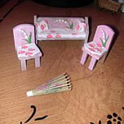 11 piece Doll House Furniture Lot