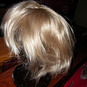 Humane Hair Blonde Wig