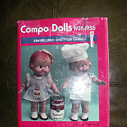 SALE Compo Dolls 1928-1955 Vol.1 By Polly And Pam Judd