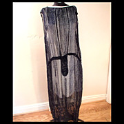 SALE 1920s Beaded Flapper Dress