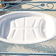 SALE Vintage Corning Ware Broil & Serve Platter With Cradle