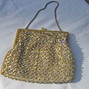 SALE Vintage Walborg Rhinestone Hong Kong Evening Bag