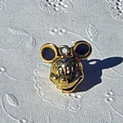 SALE Vintage Disney Mickey Mouse Head Charm