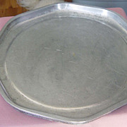 SALE Vintage Guardian Ware  Eight Sided Serving Tray