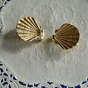 SALE Mimi di N 1976 Clam Shell Belt Buckle