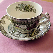 SALE Johnson Brothers Friendly Village Cup Saucer